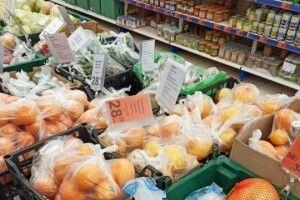 У Луцьку скасували обов'язкове фасування овочів, фруктів і яєць в магазинах на час карантину