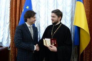 Орден «За заслуги III ступеня» відомому горохівчанину вручив міністр культури