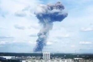 В Росії стався вибух на заводі з виробництва авіабомб (Відео)