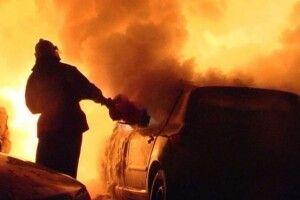 У волинському селі загорівся автомобіль – викликали вогнеборців