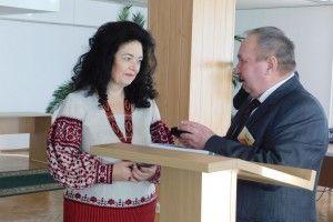 Волинянку Людмилу Стрільчук нагороджено медаллю «Будівничий України»