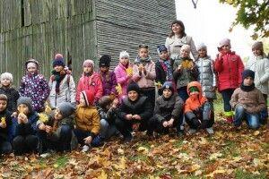 Луцькі гімназисти відзначили День захисника України в «Козацькому зимівнику»