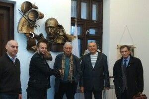 В Устилузі відкрили арт-об'єкт на честь видатного композитора