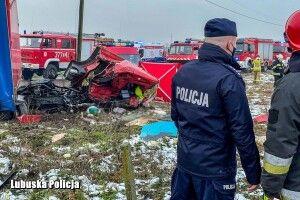 У Польщі водій з України влетів вантажівкою під поїзд