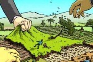 Земельна війна на Волині: щоб не допустити захвату, люди готові лягати під техніку