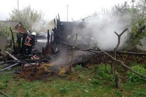 На Камінь-Каширщині у вогні загинув чоловік