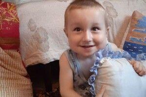 На Волині рідні дворічного малюка, у якого рідкісне захворювання, просять про допомогу