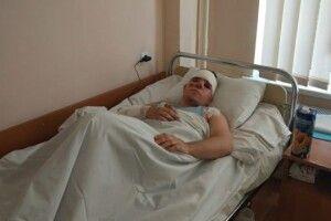 Курсант, який вижив в авіакатастрофі, вже зміг пройтися подвір'ям шпиталю