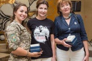 Марина Порошенко пообіцяла допомогти волинському кіборгу