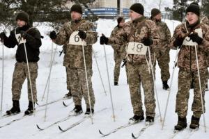Волинянка здобула перемогу у Першості оперативного командування «Захід» з воєнізованої лижної гонки