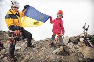 5-річна Саша підкорила вершину висотою 4009 метрів!