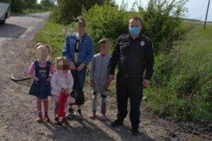 На Волині четверо дітей заблукали в лісі