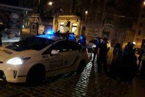 У центрі Львова Jeep протаранив авто поліції, яке супроводжувало немовля в лікарню