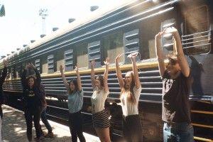В Україні з'явиться перший у Європі арт-потяг