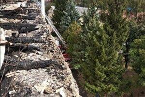 Військовий госпіталь оговтується  від пожежі