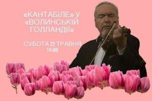 Сьогодні красу тюльпанового поля у «Волинській Голландії» доповнить класична музика