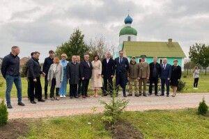 На Шаччині вшанували польських прикордонників, які загинули у вересні 1939 року