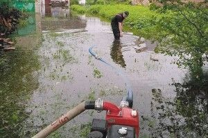 Злива затопила садиби волинян