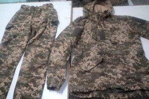Українські військові отримають теплі речі з колонії