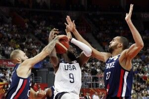 Збірна США сенсаційно поступилася французам у чвертьфіналі Чемпіонату світу з баскетболу (відео)