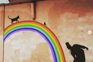 Художники замалювали пашарпані стіни міста