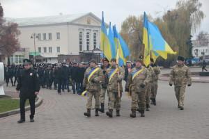 У Луцьку вшанували пам'ять тих, хто «тримав небо» над Україною