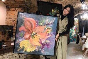 Волинська художниця продає власну картину, щоб допомогти хворій дитині