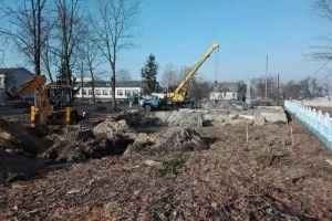 На Маневиччині триває будівництво нової амбулаторії