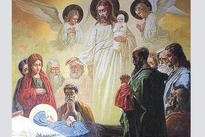 У свої87років  Лідія Спаська ще розписувала церкви
