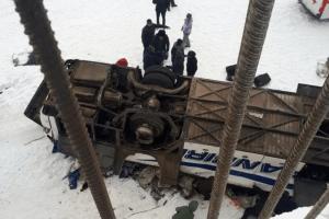 На російському Забайкаллі автобус впав у річку: 19 загиблих