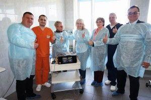 На Волині для порятунку дітей застосовують електрохірургію