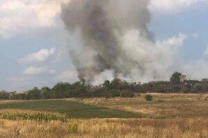 На Горохівщині чоловік повідомив у поліцію, що на село насувається дим