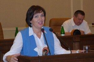 Ірина ВАХОВИЧ —  перша жінка, яка очолила Волинську обласну раду