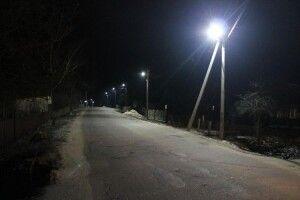 Село Нова Вижва в темну пору доби не впізнати