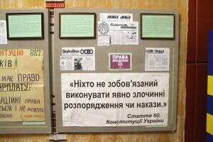Виставка до Дня Конституції України у Волинському краєзнавчому музеї