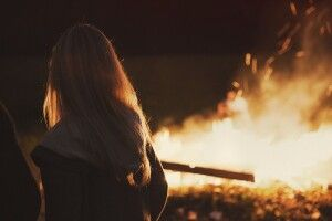 У Луцьку – пожежа через необережне поводження з вогнем