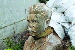 У Рівному з землі викопали… «чорта»-Сталіна!