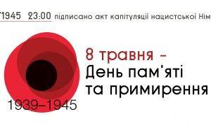 У Луцьку відзначатимуть День пам'яті та примирення і 74-ту річницю перемоги над нацизмом у Другій світовій війні