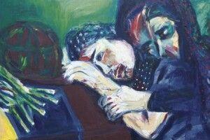 Волинянка вНімеччині задопомогою фарб закликає незабувати про війну вУкраїні