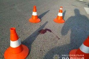 У Рівному 17-річний хлопець на BMW збив пішохода