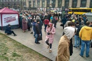 Прибічникам Президента Порошенка не вистачило квитків на НСК «Олімпійський»