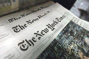 На першій шпальті газета The New York Times надрукувала  500 тисяч крапок