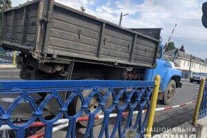 У Костополі під колесами вантажівки загинув велосипедист