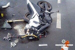 У Луцьку в ДТП травмувався 56-річний мотоцикліст