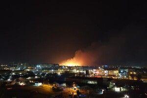 У Луцьку – грандіозна пожежа! (Відео)