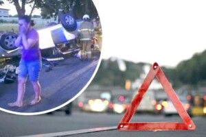 Смертельна аварія: в багажнику легковика сиділо семеро дітей