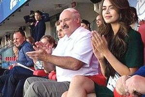 У «бацьки» Лукашенка нова фаворитка —  21-річна «Міс Європа»