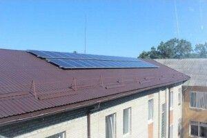 У Ківерцівській лікарні встановили сонячну електростанцію