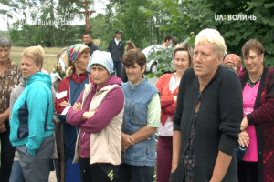 Селяни у Маневицькому районі проти видобутку бурштину підприємством «Волиньприродресурс»