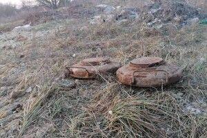 На Волині знайдені бойові артснаряди (Фото)